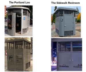 Portland Loo v. Sidewalk Toilet